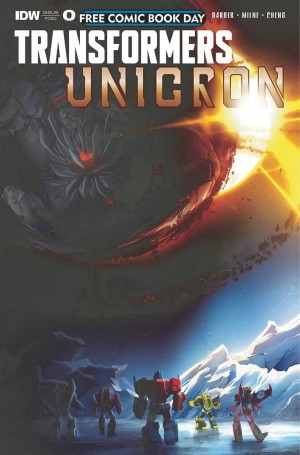 Transformers News: Review of IDW Transformers Unicron #0 - #FCBD