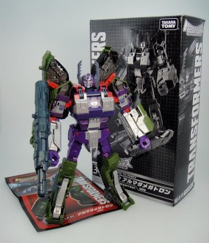 Takara Tomy Transformers Legends Black Convoy and Armada Megatron Package Images