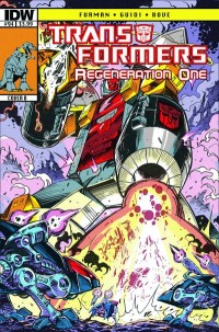 Transformers News: Transformers ReGeneration One #94 iTunes Sneak Peek