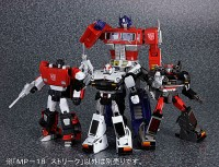 Transformers News: Slew of Additional Masterpiece MP-17 Prowl and MP-18 Bluestreak Images