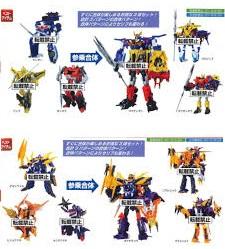 Transformers News: Takara Tomy Cancels Transformers Go! Swordbot Samurai and Shinobi Giftsets