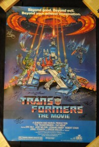 Transformers News: Transformers Posters Charity Auctions