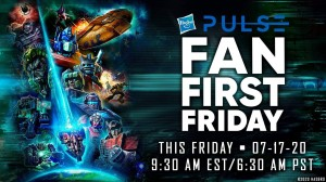 Transformers Fans First Friday coming to Hasbro Pulse With Multiple Reveals