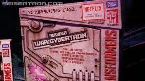 Images of What is Inside the Netflix Transformers Series Spoiler Box
