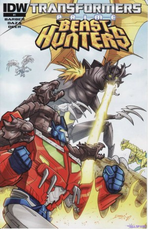 Transformers News: Malaysian Prime Beast Hunters Promotional Comic Scans