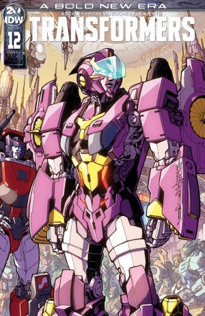 Apple Books Preview Three Page Preview for IDW Transformers Issue 12