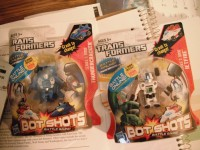 Transformers News: Transformers Bots Shots Wave 3 Sighted at Retail