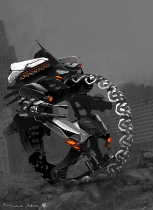 Transformers News: Transformers: Age of Extinction Concept Art from Michael Hritz