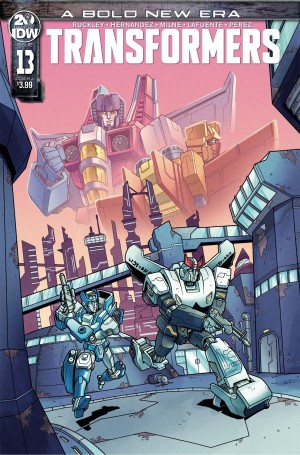 iTunes Three Page Preview for IDW's Transformers Issue 13