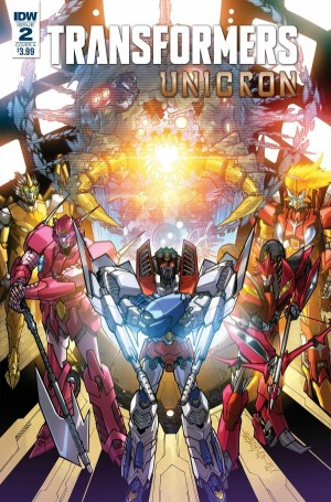 Transformers News: iTunes Preview for IDW Transformers: Unicron #2