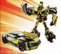 Transformers News: Transformers Prime - Rid Deluxe Shadow Strike Bumblebee