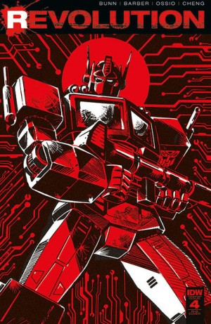 Transformers News: IDW Revolution Issue #4 (of 5) Review