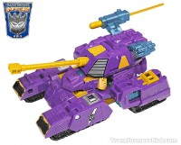 Transformers News: BotCon 2013 Machine Wars Strika Tank Mode Revealed