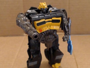 Video Review - Transformers Age of Extinction One-Step Changer High Octane Bumblebee
