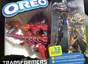Transformers News: Transformers: Age of Extinction / Oreo South American Figure Promotion