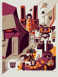 Transformers News: NYCC 2012 Transformers Limited Edition Screen Prints Revealed