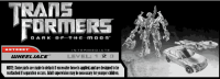 Transformers DOTM Deluxe Wheeljack Instruction Sheet Reveals Potential New Head Mold