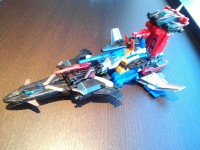 Transformers News: Transformers Kabaya Dai Atlas, Sonic Bomber and Road Fire In-Hand