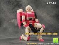 Transformers News: A New 3rd Party Custom G1 Arcee Figure