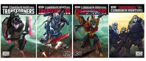 Transformers News: IDW & Top Shelf Announce SDCC 2015 Exclusives & Debuts - Transformers Combiner Hunters