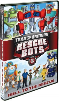"Transformers News: Transformers: Rescue Bots ""Roll to the Rescue"" DVD Content Revealed"