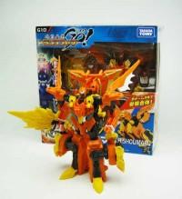 Transformers News: In-Hand Image: Takara Tomy Transformers Go! G10 Hishoumaru
