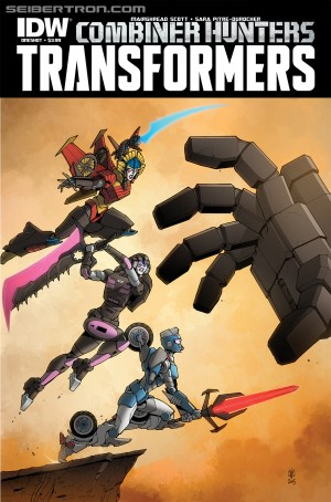 Transformers News: Sneak Peek - IDW Transformers: Combiner Hunters One Shot iTunes Preview