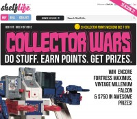 Win Encore Fortress Maximus, Vintage Millenium Falcon & $750 in Prizes with ShelfLife.net's Collector Wars (Season 2)!