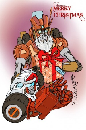 Transformers News: Transformers Artists' Season's Greetings