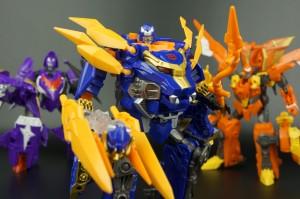 New Galleries: Transformers Go! Swordbot Shinobi Team Gekisoumaru, Hishoumaru and Sensuimaru