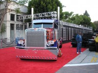 Transformers News: Setup Pics from Hollywood Premiere's party for ROTF
