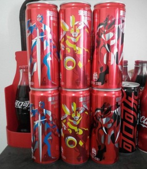 Transformers News: Transformers: The Last Knight Promotional Chinese Coca Cola Cans