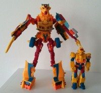 Transformers News: TFCC Subscription Service Figure Circuit Robot Mode Image