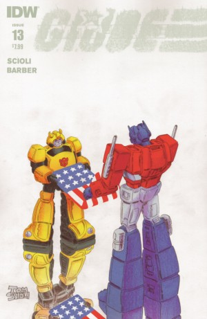 Transformers News: IDW Transformers vs. G.I. Joe #13 Full Preview (Final Issue)