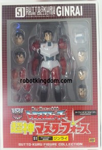 Transformers News: In-Package Images: CM's Corp Gutto Kuru Collection Ginrai