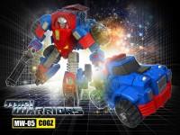 Transformers News: iGear reveal MW-05 Cogz (Gears)