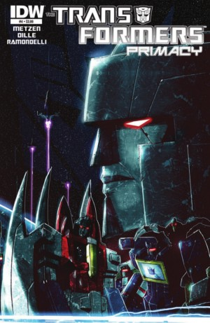 Transformers News: IDW Transformers: Primacy #4 Full Preview