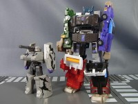 Transformers News: In-Hand Images: Kabaya Transformers Gaia Scramble Figures