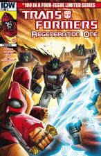 Transformers News: Sneak Peek - Transformers: Regeneration One #100