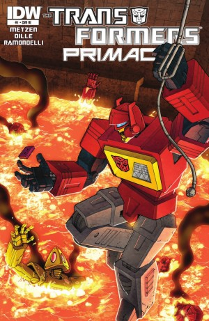 Transformers News: IDW Transformers: Primacy #1 Review
