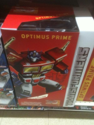 Transformers News: Year Of The Horse Masterpiece Optimus Prime Released At UK TRUs
