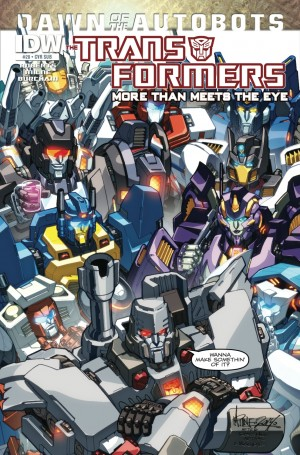 IDW Transformers: More Than Meets The Eye #28 Preview