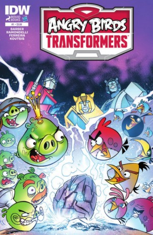 Transformers News: IDW Angry Birds Transformers #1 Full Preview