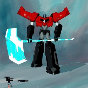 Transformers: Robots In Disguise Bumblebee, Windblade, Optimus Prime Concept Art by Jose Lopez