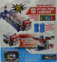 Transformers News: In-Package Images: Transformers Bot Shots Launchers Wave 3 and Dragon Track Set