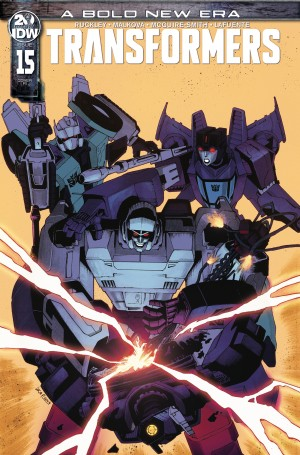 New Retailer Incentive Covers Revealed For IDW Transformers #15, Galaxies #3 and #4