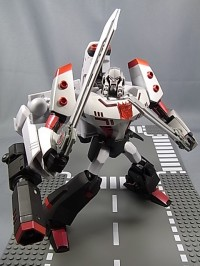 Transformers News: Toy Images of Takara Transformers Animated Leader Class Megatron