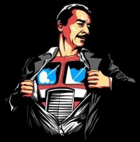 Transformers News: Peter Cullen tribute charity t-shirt available today only at RIPT Apparel
