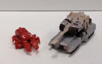 Transformers News: Video Review: Transformers Generations Legends Class Megatron with Chop Shop