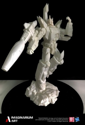 Imaginarium Art Transformers Statues: Galvatron Prototype, Jazz Colours, Bumblebee Teaser